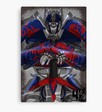 Transformers Age of Extinction Canvas Print
