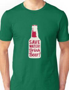 Save Water Unisex T-Shirt