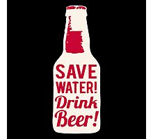 Save Water Photographic Print
