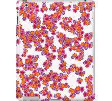 Flowers Random Fill Pattern iPad Case/Skin