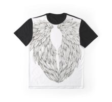 Inked Angel Wings Graphic T-Shirt