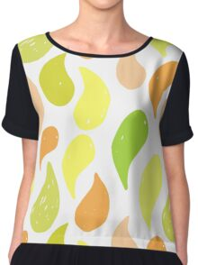 Fruit drops Chiffon Top