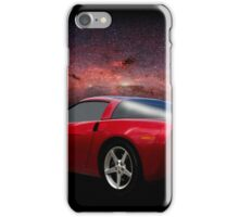 C-6 Corvette and the Cosmos iPhone Case/Skin