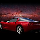 C-6 Corvette and the Cosmos by ChasSinklier