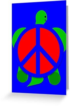 Turtle Peace by PharrisArt