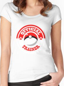 Monster Trainer  Women's Fitted Scoop T-Shirt