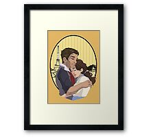 Home in Paris Framed Print