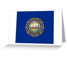 New Hampshire Flag - USA State T-Shirt Sticker Duvet Cover Greeting Card
