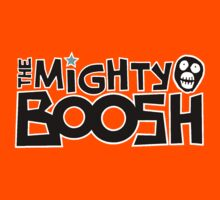 The Mighty Boosh – Black Writing & Mask by PonchTheOwl