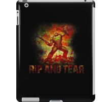 Doom - Doomslayer - Rip And Tear iPad Case/Skin