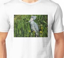 Shoebill Stork Unisex T-Shirt