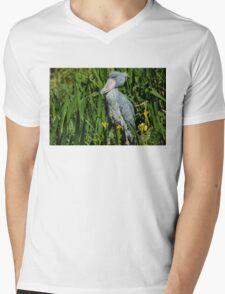 Shoebill Stork Mens V-Neck T-Shirt