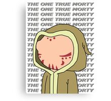 One True Morty Canvas Print