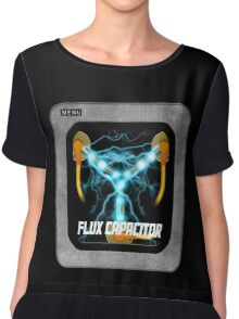 Flux Capacitor only Chiffon Top