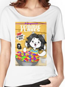 temmie flakes Women's Relaxed Fit T-Shirt