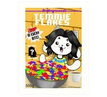 temmie flakes Art Print