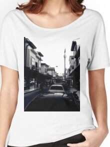 A street in Konya Women's Relaxed Fit T-Shirt