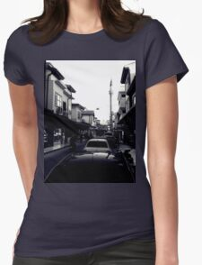 A street in Konya Womens Fitted T-Shirt