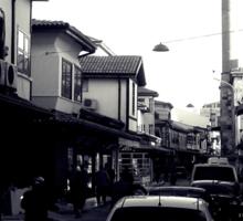A street in Konya Sticker
