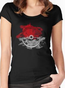 Epic Pokeball Women's Fitted Scoop T-Shirt