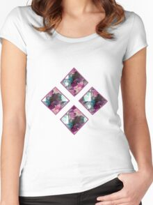 Ornate Polygon Mosaic 3 Women's Fitted Scoop T-Shirt