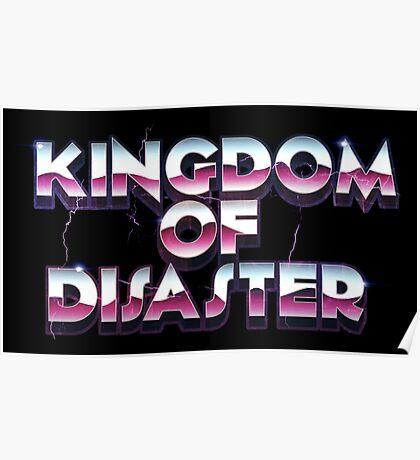 Arcade Storm Signature Poster