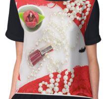 Valentine's Day romantic accessories Chiffon Top