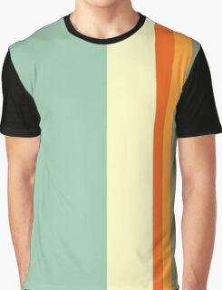 70's Stripes Graphic T-Shirt