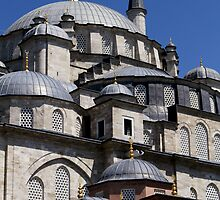 Fatih Mosque in Istanbul by Jens Helmstedt