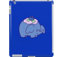Blueberry Elephant iPad Case/Skin