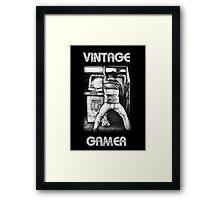 Vintage Gamer Framed Print