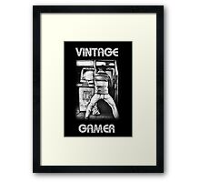 Vintage Gamer Framed Print