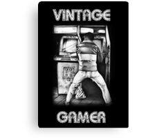 Vintage Gamer Canvas Print