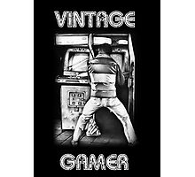 Vintage Gamer Photographic Print