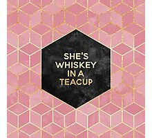 She's Whiskey In A Teacup Photographic Print