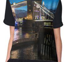 Tower Bridge London Chiffon Top