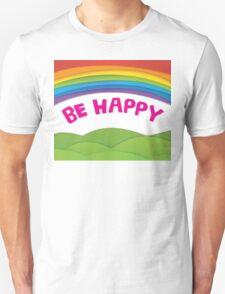 Happy Paper Rainbow Unisex T-Shirt