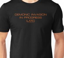 Doom - Demonic Invasion In Progress - Clean Unisex T-Shirt