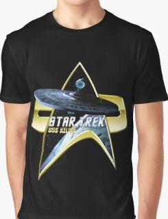 StarTrek USS Kelvin Com badge Graphic T-Shirt
