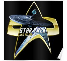 StarTrek USS Kelvin Com badge Poster