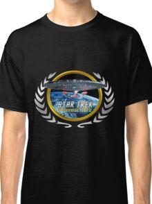 Star trek Federation of Planets Enterprise 1701 D  3 Classic T-Shirt