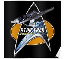 StarTrek Enterprise 1701 A  Command Signia Chest Poster