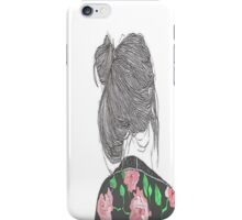 TOP KNOT iPhone Case/Skin