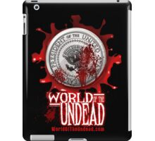 World of the Undead - Presidential Seal iPad Case/Skin