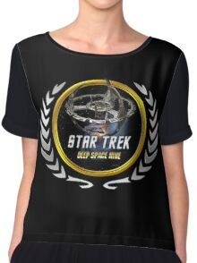 Star trek Federation of Planets Deep Space Nine Chiffon Top
