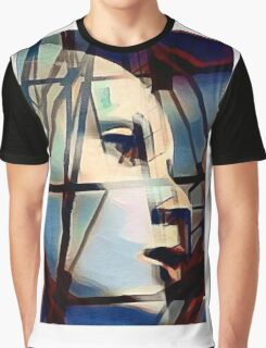 Side Face Graphic T-Shirt