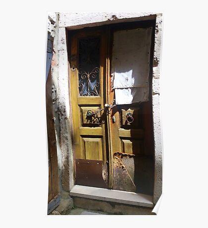 The Door..................................Dubrovnik Poster
