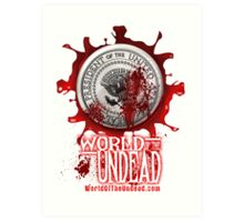 World of the Undead - Presidential Seal Art Print