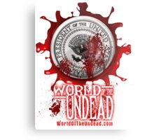 World of the Undead - Presidential Seal Metal Print