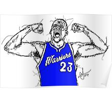 draymond green warriors Poster
